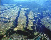 画像:赤城村航空写真1
